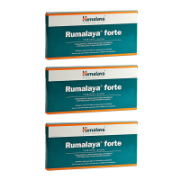 Таблетки Румалайя Форте Гималая (Tablets Rumalaya Forte Himalaya), 3 упаковки по 60 таблеток