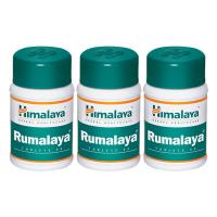 Таблетки Румалайя Гималая (Tablets Rumalaya Himalaya), 3 упаковки по 60 таблеток